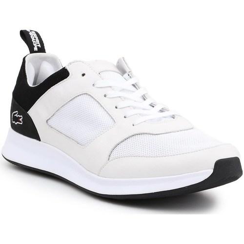 Shoes Men Low top trainers Lacoste Joggeur White,Black