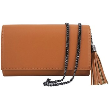 Bags Women Pouches / Clutches Barberini's 46412 Brown