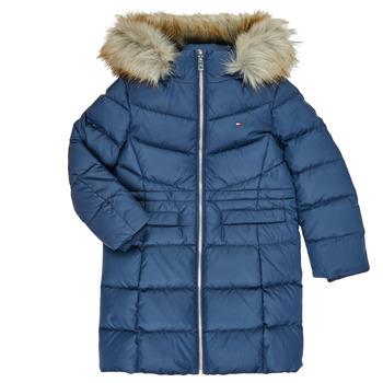 Clothing Girl Duffel coats Tommy Hilfiger KG0KG05397-C87-C Marine