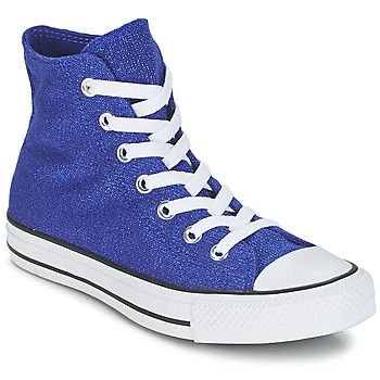 Shoes Women Hi top trainers Converse CHUCK TAYLOR ALL STAR KNIT Blue / King