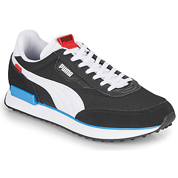 Shoes Men Low top trainers Puma FUTURE RIDER PLAY ON Black / White
