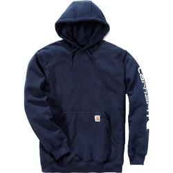 Clothing Sweaters Carhartt Sweatshirt à capuche  Logo bleu marine