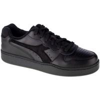 Shoes Men Low top trainers Diadora MI Basket Low Black