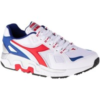 Shoes Men Low top trainers Diadora Mythos White,Red