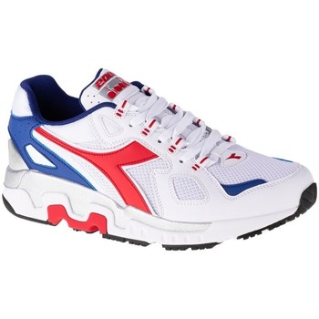 Shoes Men Low top trainers Diadora Mythos White, Red