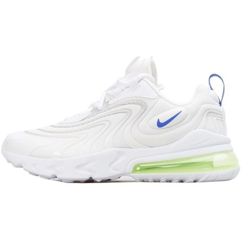 Shoes Children Low top trainers Nike Air Max 270 React Eng GS White