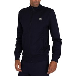 Clothing Men Track tops Lacoste Sport Zip Track Top blue