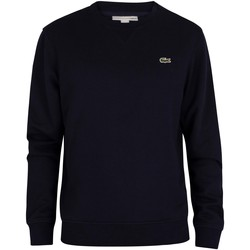 Clothing Men Sweaters Lacoste Sport Logo Sweatshirt blue