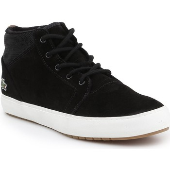 Shoes Men Hi top trainers Lacoste Ampthill Chukka 417 7-34CAW0065024 black