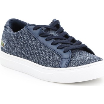 Shoes Women Low top trainers Lacoste L 12 12 317 7-34CAW0017003 blue