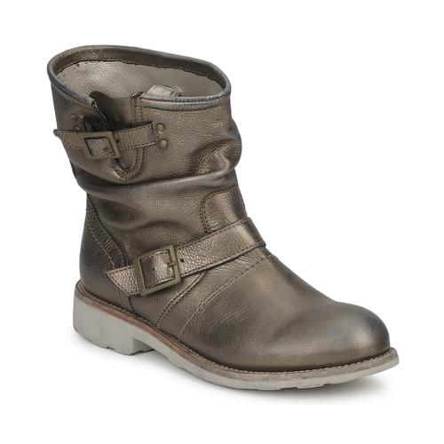 Shoes Women Mid boots Bikkembergs VINTAGE 502 Lead