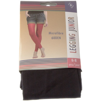 Clothing Girl Leggings Intersocks Long warm leggings - Opaque Noir