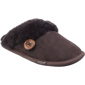 Shoes Women Slippers Cotswold Lechlade Chocolate