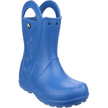 Shoes Boy Wellington boots Crocs Handle It Rain Blue