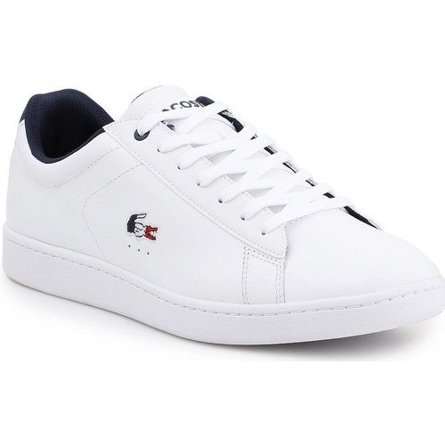 Shoes Men Low top trainers Lacoste Carnaby EVO 119 7-37SMA0013407 white