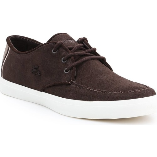 Shoes Men Low top trainers Lacoste Sevrin 316 7-32CAM0086176 brown