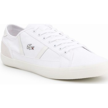 Shoes Men Low top trainers Lacoste Sideline 119 7-37CMA006665T white