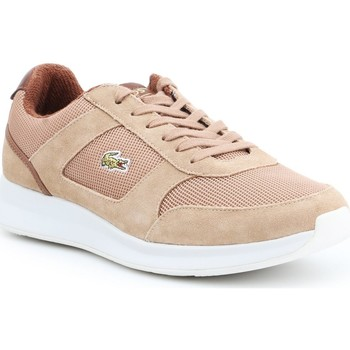 Shoes Men Low top trainers Lacoste Joggeur 317 3 SPM LT 7-34SPM00174D8 brown