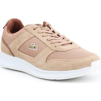 Shoes Men Low top trainers Lacoste Joggeur 317 3 SPM LT 7-34SPM00174D8 brown