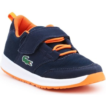 Shoes Boy Sandals Lacoste Light 217 1 SPC 7-33SPC1005DT7 navy , orange