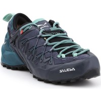 Shoes Women Walking shoes Salewa WS Wildfire Edge GTX 61376-3838 black, green, navy