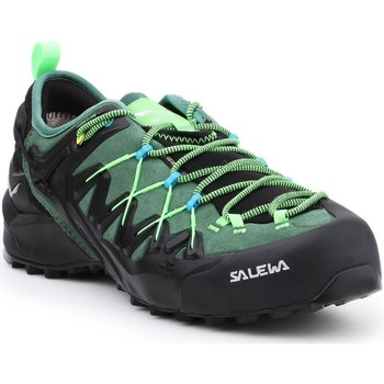 Shoes Men Walking shoes Salewa MS Wildfire Edge GTX 61375-5949 black, green