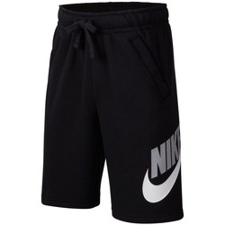 Clothing Boy Shorts / Bermudas Nike Club Fleece Black