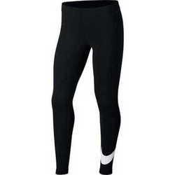 Clothing Girl Leggings Nike Swoosh Black