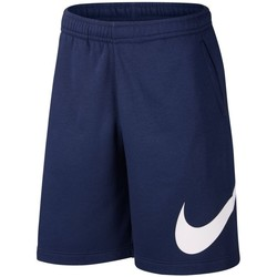 Clothing Men Shorts / Bermudas Nike Sportswear Club Blue
