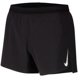 Clothing Men Shorts / Bermudas Nike Aeroswift Black
