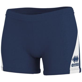 Clothing Women Shorts / Bermudas Errea Short femme  kiara marine/blanc