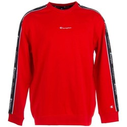 Clothing Men Sweaters Champion Crewneck Sweatshirt Red