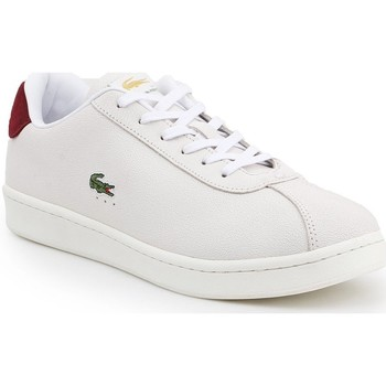 Shoes Men Low top trainers Lacoste Masters White