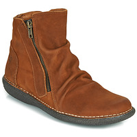 Shoes Women Mid boots Casual Attitude NELIOO Brown
