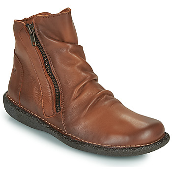 Shoes Women Mid boots Casual Attitude NELIOO Camel