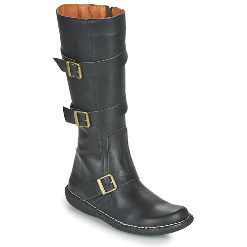 Shoes Women High boots Casual Attitude NIBOOT Black