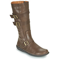 Shoes Women High boots Casual Attitude NIBOOT Brown