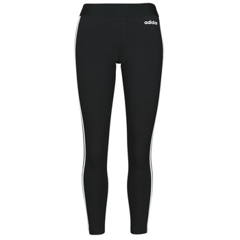 Clothing Women Leggings adidas Originals W E 3S TIGHT Black / White