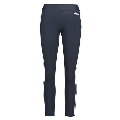 Clothing Women Leggings adidas Originals W E 3S TIGHT Encleg / White