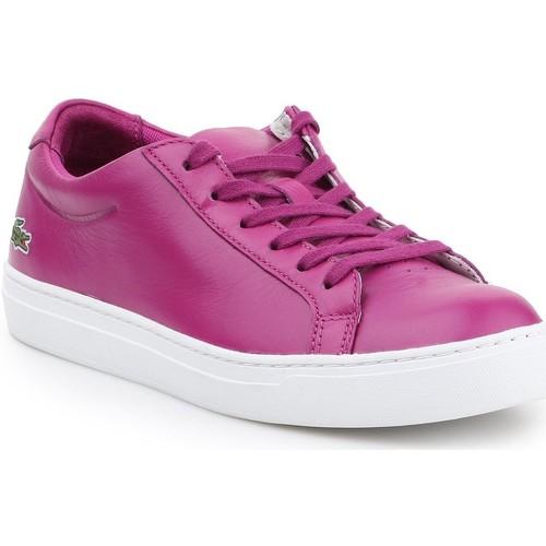 Shoes Women Low top trainers Lacoste L.12.12 117 7-33CAW1000R56 purple