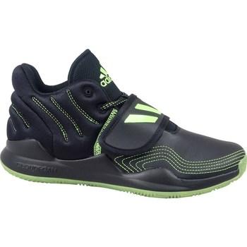 Shoes Children Hi top trainers adidas Originals Deep Threat J Black