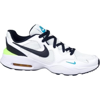 Shoes Children Low top trainers Nike Air Max Fusion GS White,Black