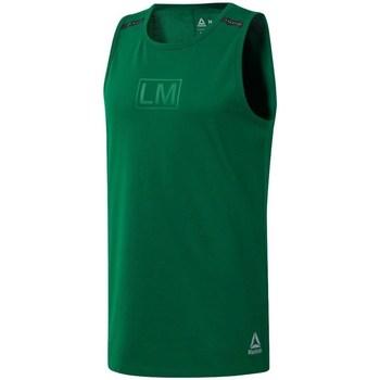 Clothing Men Tops / Sleeveless T-shirts Reebok Sport Les Mills Performance Green