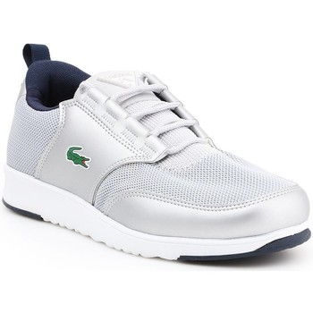 Shoes Women Low top trainers Lacoste Light White,Silver
