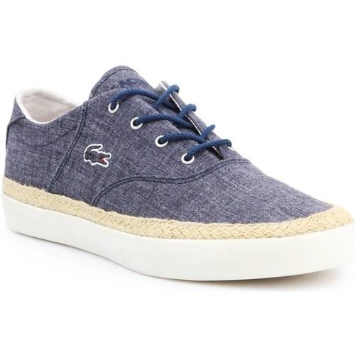 Shoes Men Low top trainers Lacoste Glendon Espa Blue