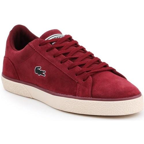 Shoes Men Low top trainers Lacoste Lerond Burgundy