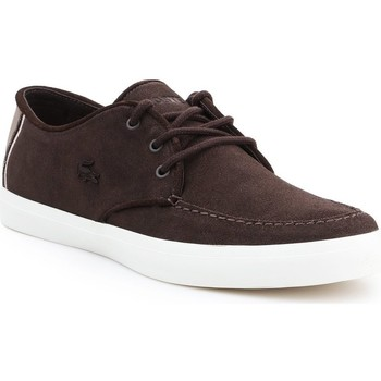 Shoes Men Low top trainers Lacoste Sevrin Brown