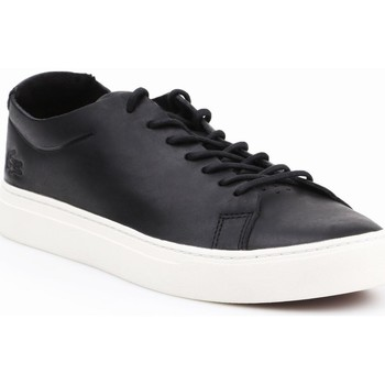 Shoes Men Low top trainers Lacoste L1212 Unlined Black