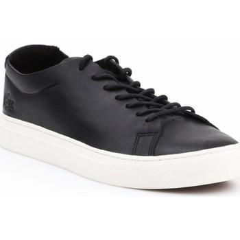 Shoes Men Low top trainers Lacoste L1212 Unlined Black