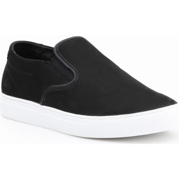 Shoes Men Low top trainers Lacoste Alliot Slipon Black